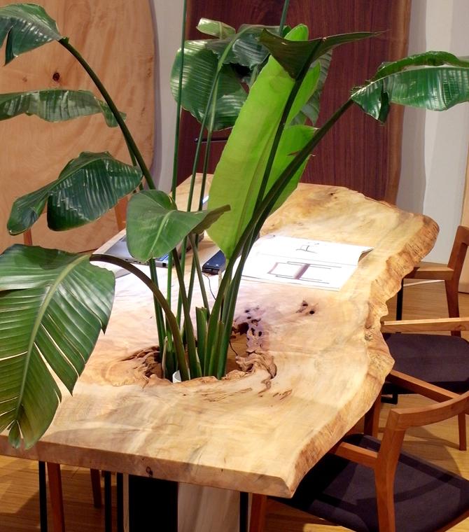 お洒落な家具おしゃれなオーダーテーブルはコネクト