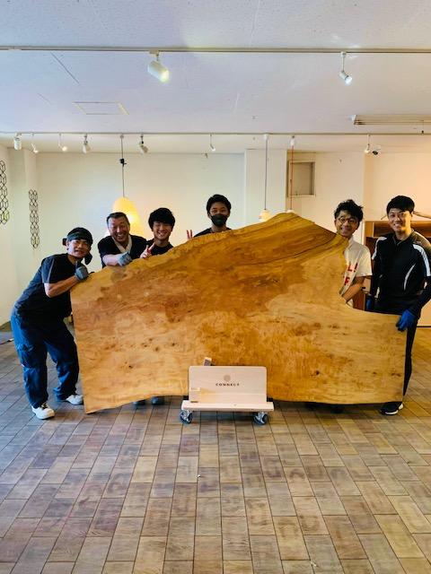 10・11月イベント「re-wood一枚板」